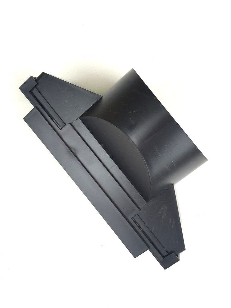 Beddoes Products Pipe Adaptor (110 mm) To Fit 15' x 9' Ludlow Plus/Redland 49 Roof Tile Vent For Extractor Hose Connection