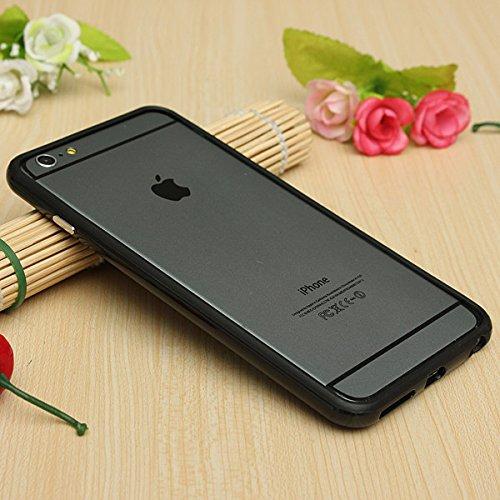 Meilleure qualité Iphone 6 (4.7)-G4GADGET Coque anti-chocs en silicone ® Noir