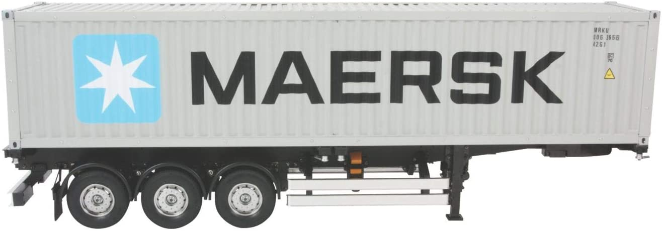 Tamiya 40Ft Container Semi-Trailer for Tractor Trucks