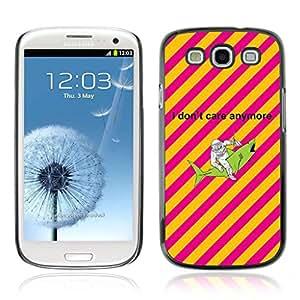 A-type Arte & diseño plástico duro Fundas Cover Cubre Hard Case Cover para Samsung Galaxy S3 III / i9300 i717 ( Astronauta & Shark )