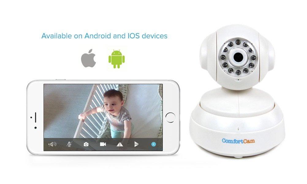 Beurer BY 88 Video de surveillance WiFi pour Smartphone Tablette PC  Gris Blanc cc2ea6d47082