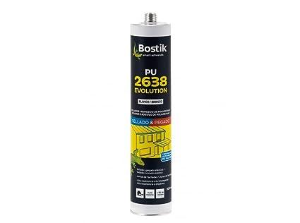 Bostik M55890 - Masilla poliuretano 2638 300 ml gris