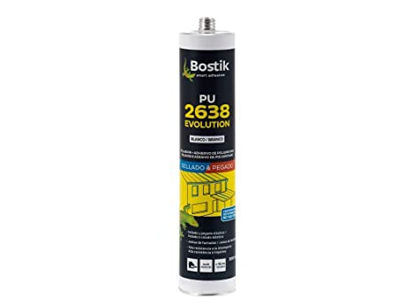 Bostik M106846 - Masilla poliuretano 2638 300 ml marron ...