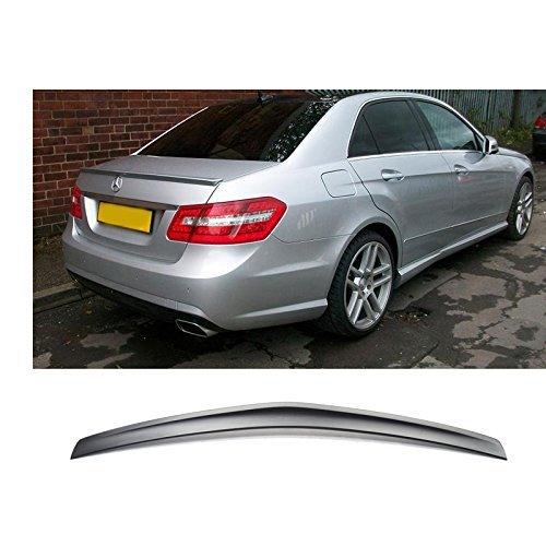 Class Spoilers (Trunk Spoiler Fits 2010-2016 Benz E-Class W212   AMG Style Unpainted ABS Added On Lip Wing Bodykits by IKON MOTORSPORTS   2010 2011 2012 2013 2014 2015 2016)