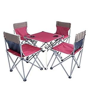Generic AIRS S Set Camping Lding Mesa SILLAS Stool TY PICNI ...