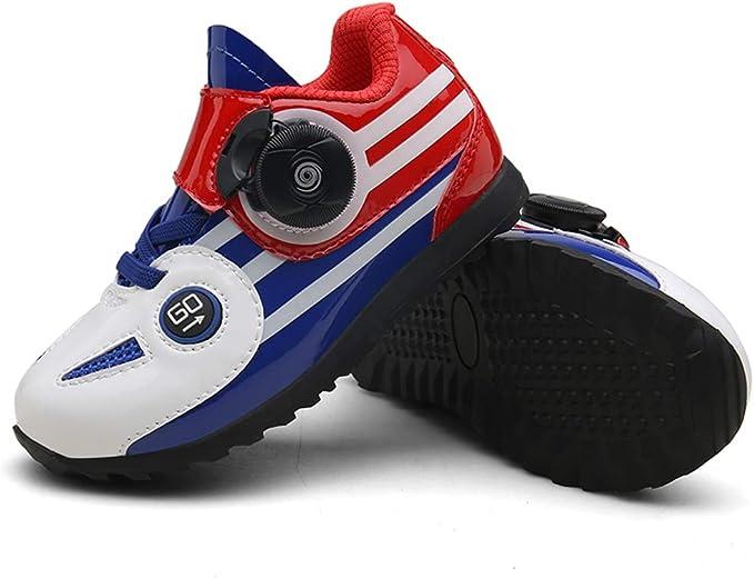 ZC Dawn Zapatillas De Spinning para Niños Ciclismo De Interior ...