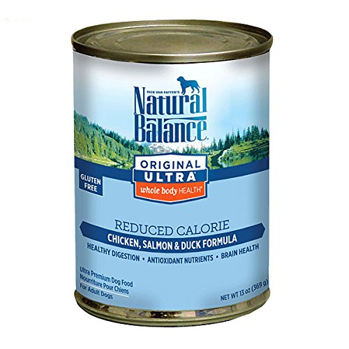 Natural Balance Reduced Calorie Formula Dog Food, 13.2 oz