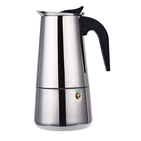 FYHKF Moka Pot 304 - Cafetera portátil (Acero Inoxidable ...