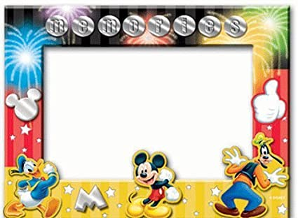 Elegant Disney Mickey Mouse Donald Goofy Memories Picture Frame