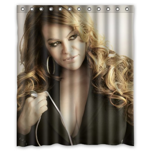 Lovelife Jenni Rivera Fabric Curtain Standard Size Polyester & Waterproof Custom Shower Curtain 60