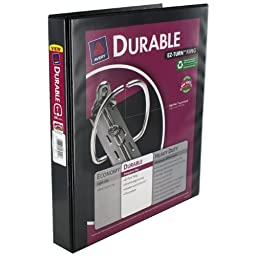Avery Durable EZ-Turn Ring Reference Binder, 11 x 8-1/2, 1\