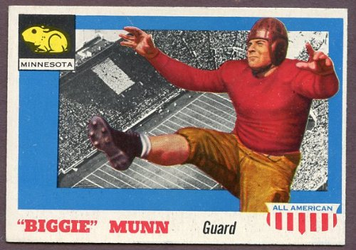 1955 Topps #92 Biggie Munn Minnesota NR-MT 140794 Kit Young (Biggie Kit)