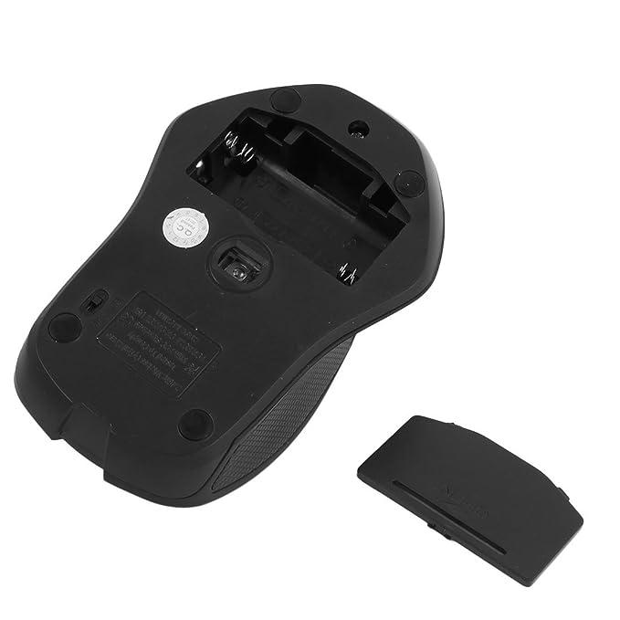 Amazon.com: eDealMax portátil PC inalámbrica del ordenador portátil del USB del receptor móvil ratón óptico Gris Negro: Electronics