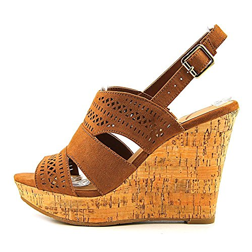 American Rag Womens Mirranda Fabric Open Toe Casual Platform Sandals Maple FuaAxrRD37