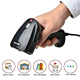 2D QR Barcode Scanner, AGPtEK Handheld Wired USB Review and Comparison