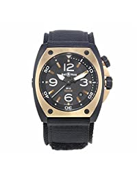 Bell & Ross Marine automatic-self-wind mens Watch BR02?PINKGOLD?CA (Certified Pre-owned)