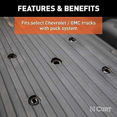 CURT 16024 Replacement Chevrolet Silverado, GMC Sierra 2500, 3500 HD Puck System 5th Wheel Legs, 30,000 lbs, Hitch Head Required: Automotive