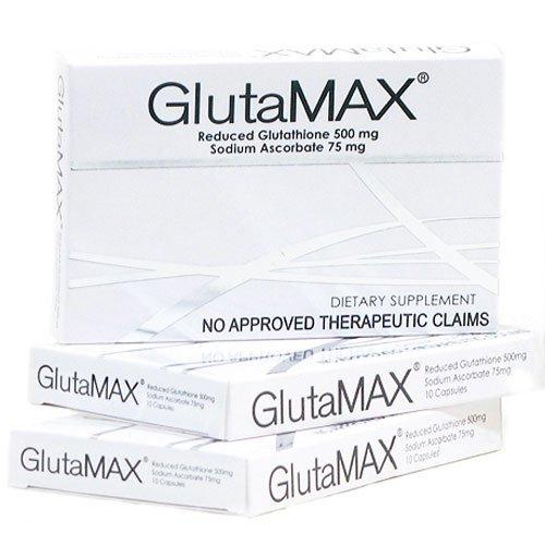 Glutamax Reduced L Glutathione Ascorbate Capsules product image