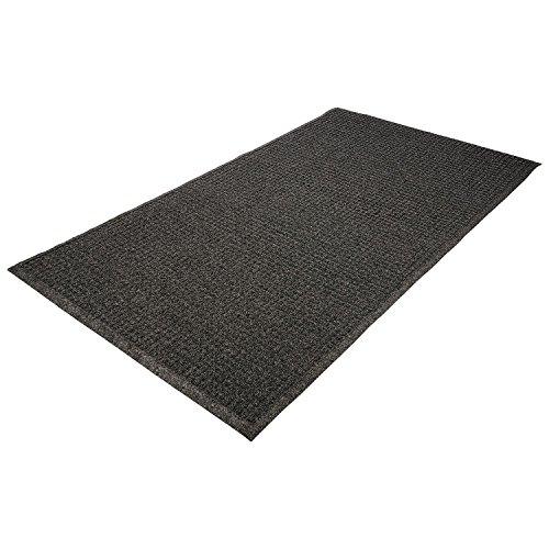 (Guardian - EcoGuard Indoor/Outdoor Wiper Mat, Rubber, 24 x 36 - Charcoal)