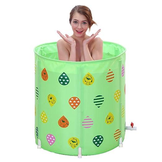 TNUGF Piscina Hinchable Banera Piscinas Barril de baño Barril de ...