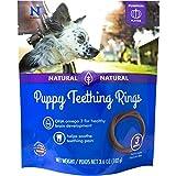 N-Bone Puppy Teething Ring Pumpkin Flavor, 3.6 oz, 3 Pack For Sale