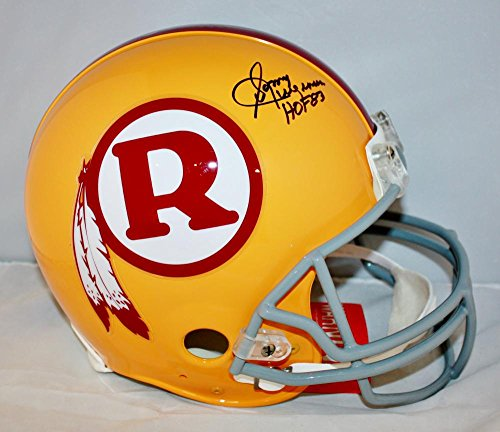 Sonny Jurgensen HOF Signed F/S Redskins 70-71 TB ProLine Helmet- JSA W Auth Blk