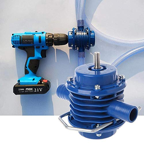 Water Pump Drill Pump Electric Drill,Recirculating System with Built-In Timer,Automatic Condensate Removal Pump,Hand Drill Micro Self-priming Pump,DC Self-priming Centrifugal Small Household Pump by KOBWA (Image #3)