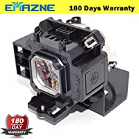 Emazne NP07LP/4330B001/60002447 Projector Replacement Compatible Lamp With Housing Work For NEC NP300 NEC NP400 NEC NP400G NEC NP410W NEC NP500 NEC NP500C NEC NP500W NEC NP500WS NEC NP510C NEC NP510C+