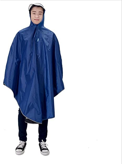 aiyoyo grandes bicicleta lluvia transpirable, impermeable Poncho ...