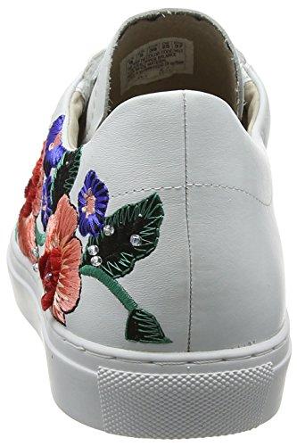 Skechers Blanc Vaso Femme white Baskets flor SOzTqg