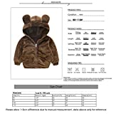 Kid Baby Jacket Hoodie Thick Warm Outwear Bear