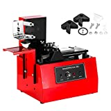 Superland YM600-B Desktop Electric Pad Printer 10-60 Strokes/ Mins Ink Printing Machine Oil Ink Screen Printing Multi Use for Printing T-shirts Watches Balls Pens Lighters (YM600-B)