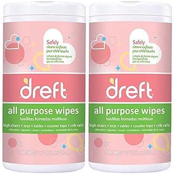 Dreft All Purpose Wipes - 70 ct - 2 pk by Dreft