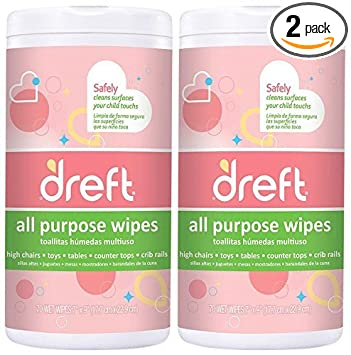 Amazon.com: Toallitas de limpieza multiusos Dreft para ...