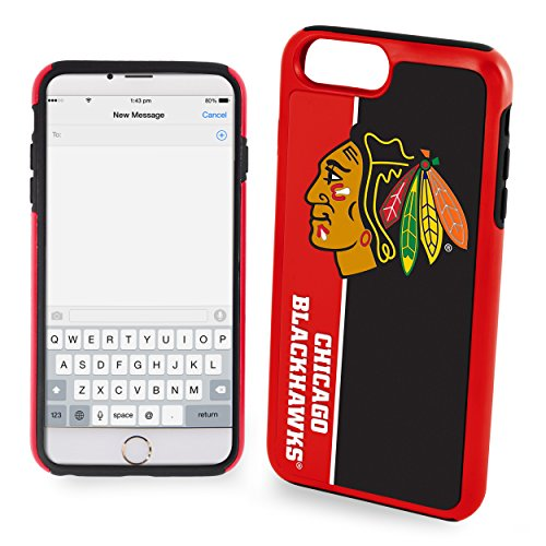 Forever Collectibles iPhone 8/7 Dual Hybrid Bold Case - NHL Chicago (Forever Collectibles Collectibles)