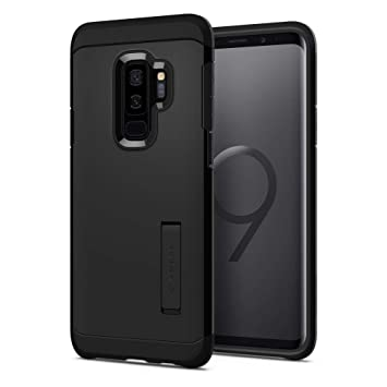 big sale 6e7a9 8d298 Samsung Galaxy S9 Plus Case, Spigen® [Tough Armor] Galaxy S9 Plus Case with  Reinforced Kickstand and Heavy Duty Protection Designed for Samsung ...