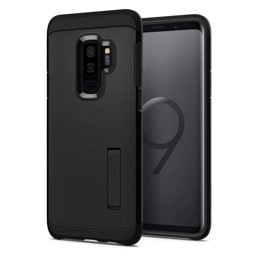 Funda Spigen Samsung S9 Plus [black] Tough Armor
