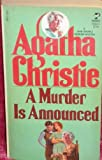 A Murder Is Announced, Agatha Christie, 0671459341