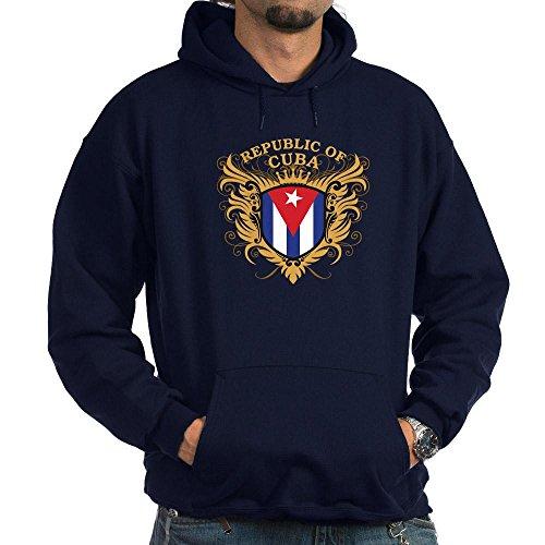 CafePress Cuba Pullover Hoodie, Classic & Comfortable Hooded Sweatshirt Navy