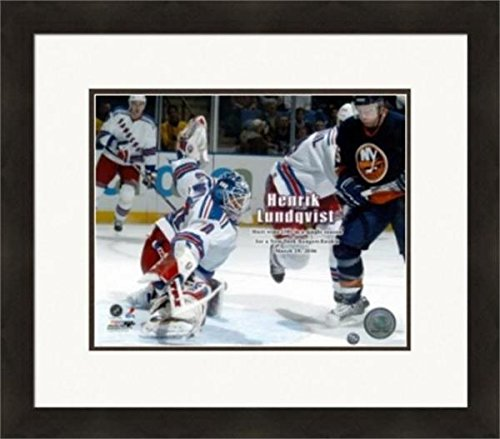 Autograph 223909 New York Rangers Cf Rookie Wins Record M...