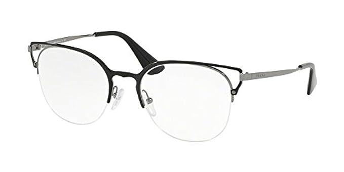 c790c1abb865 Prada Women's PR 64UV Eyeglasses 51mm at Amazon Women's Clothing store: