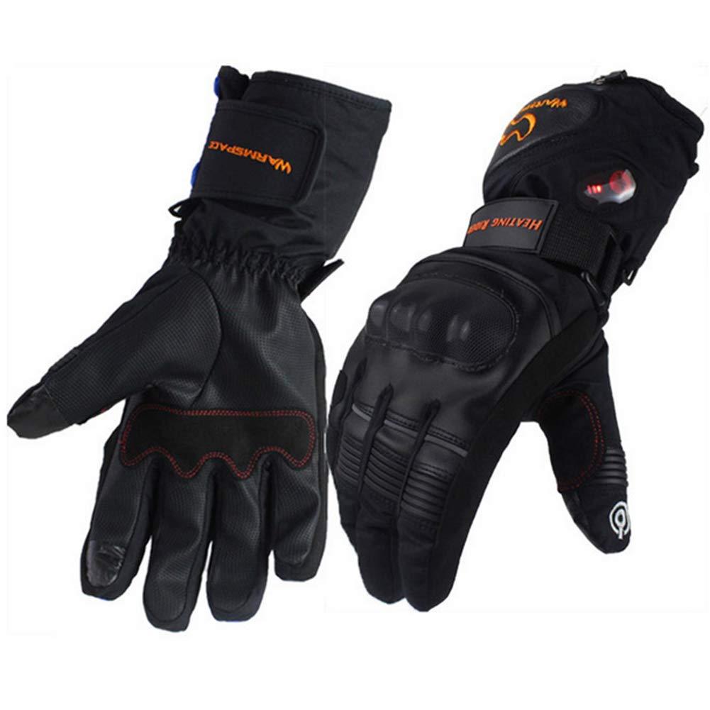 TZTED Beheizte Handschuhe mit wiederaufladbare Lithium-Ionen-Batterie Beheizt für Herren Damen Winterhandschuhe mit Wiederaufladbare Lithium-Ionen-Batterie Beheizt