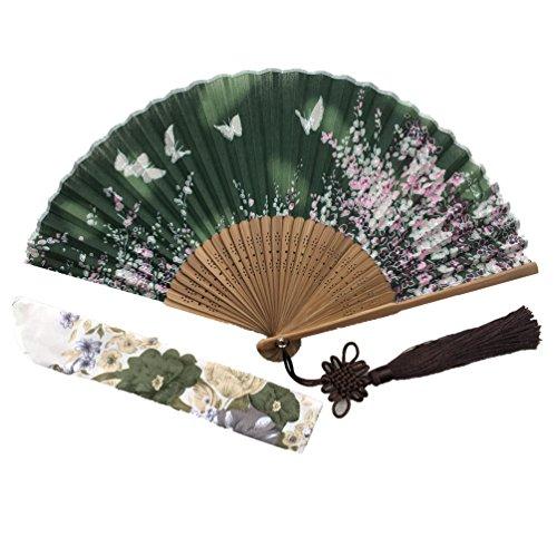 Wise Bird Folding Hand FAN Japanese Fan Chinese Fan Bamboo Wood fan Pocket Fan - F699