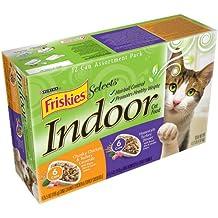 Indoor Chicken and Turkey Wet Cat Food (5.5-oz can, case of 24)