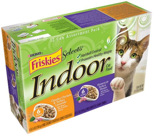 Indoor Chicken And Turkey Wet Cat Food 5 5 Oz Can Case Of 24