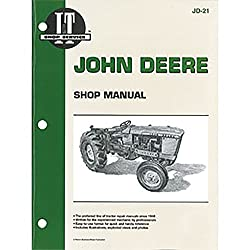 JD21 New Tractor Shop Manual for John Deere Tracto