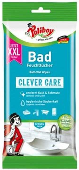 poli Boy XXL ba/ño de limpieza Toallitas Clever Care 24/unidades