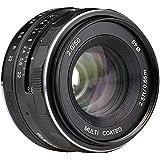 Meike 50mm f/2.0 Fixed Manual Focus Lens for Sony E mount APS-C Mirrorless Camera A6300 A6000 A6500 A5100 A5000 NEX3 NEX3N NEX7 NEX6 NEX5n