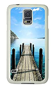 Samsung Galaxy S5 Cases & Covers - Road To Lake PC Custom Soft Case Cover Protector for Samsung Galaxy S5 - White