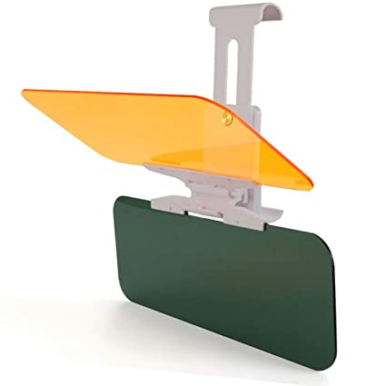 Amazon.com  Car Visor Sun Blocker Anti-Glare Extender Windshield For ... 221687948af